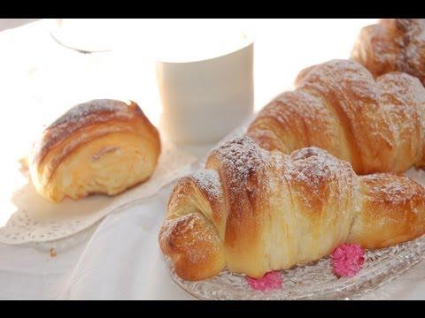 croissant - ricetta