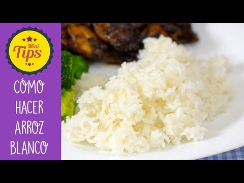 ARROZ BLANCO (AL VAPOR)🍚🍙| MINI TIPS💡| Recién Cocinados