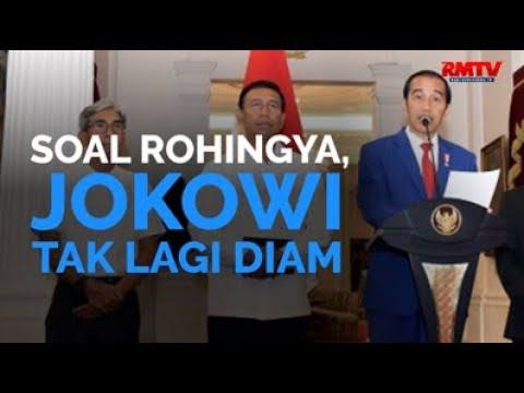 Soal Rohingya, Jokowi Tak Lagi Diam