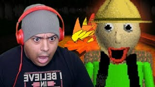WHY TF AM I CAMPING WITH THIS B#%$H! [BALDI'S FIELD TRIP]