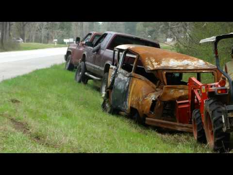 Redneck VW Bus Extraction
