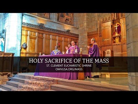 Holy Sacrifice of the Mass (Monday, March 01, 2021)