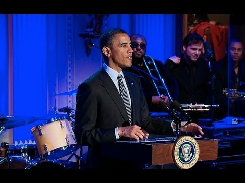 soul music - President Obama welcomes music legends and contemporary artists to the White House for a celebration of Memphis Soul music. April 9, 2013.