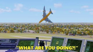 Video 747 Pilot LOSES HIS MIND in Flight Simulator X (Multiplayer ATC) MP3, 3GP, MP4, WEBM, AVI, FLV Februari 2019