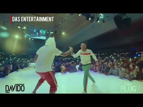"""WIZKID IS MY NEW BEST FRIEND"" Davido bring out Wizkid and Mohits at the #30BillionConcert"