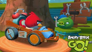 Angry Birds Go! Multiplayer Team Racing with Fans