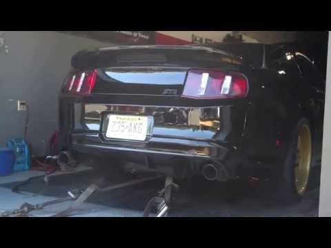 Kyle's 5.0 Mustang Dyno Runs NJ at Big Daddy Performance - Jersey Shore