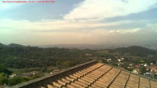 Timelapse 05-10-2015 Sant Fost de Campsentelles