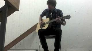 """""""Meadowlarks"""" (Fleet Foxes) Cover in a Stairwell"""