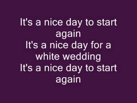 Black Veil Brides - White Wedding lyrics