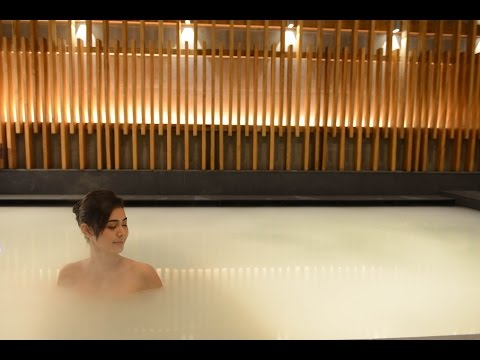 Let's Relax Onsen and Spa Thonglor, the Authentic Japanese Urban Onsen (видео)