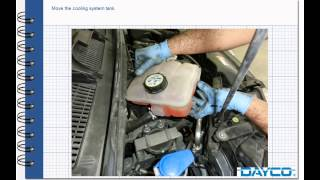 Timing belt and water pump replacement FORD C-Max 1600 Diesel HHDA