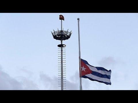 Θλίψη για τον θάνατο του Κάστρο στο πανεπιστήμιο της Αβάνας
