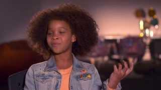 "Annie: Quvenzhané Wallis ""Annie"" Official Movie Interview"