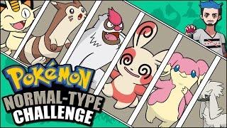 NORMAL POKÉMON CHALLENGE | Pokémon Naming Challenge by Ace Trainer Liam