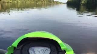 8. 2016 Kawasaki STX 15F top speed