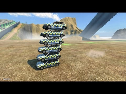 BeamNG Drive Alpha Crash Testing #12 HD