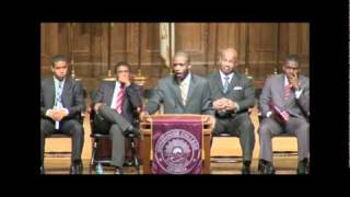 Darrell Bennett - Morehouse Crown Forum (Pt. 2)