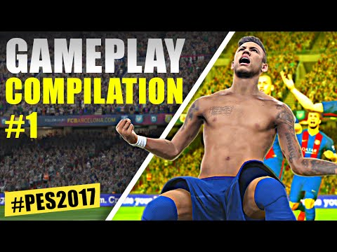 PES 2017 - Gameplay Compilation #1 by Weedens