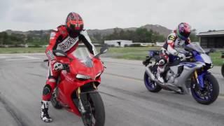 10. Yamaha R1 vs BMW S1000RR vs Ducati 1299 Panigale.