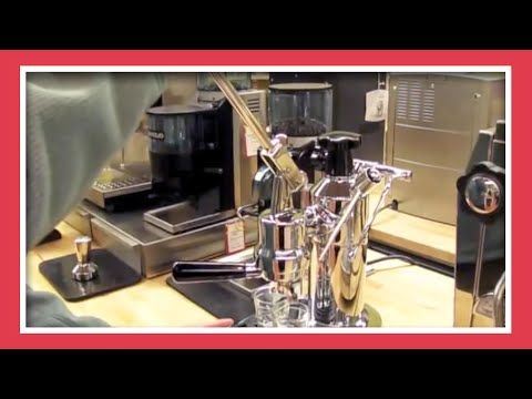Learning to Use a La Pavoni Manual Espresso Machine