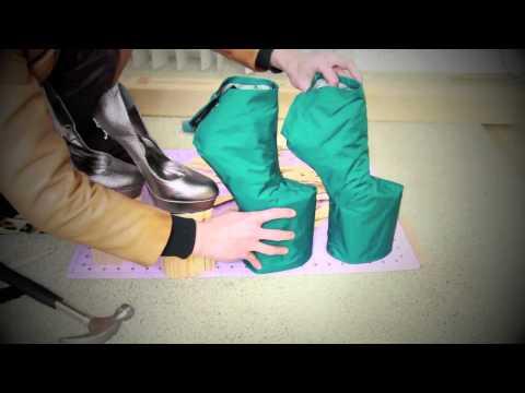 Как сделать своими руками сапоги