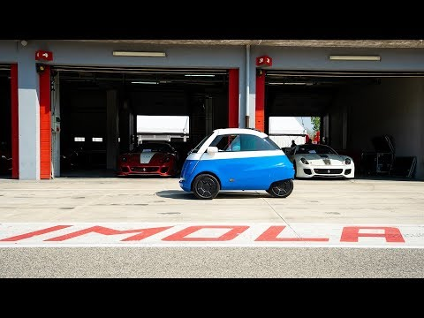 Microlino Brake Tests on the Race Track