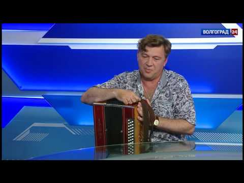 """Юрий Щербаков, музыкант, солист казачьего ансамбля """"Станица"""""""