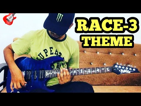 RACE 3 THEME MUSIC ELECTRIC GUITAR COVER (short) | Salmaan khan | FuZaiL Xiddiqui