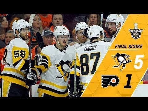 Penguins vs Flyers 2017-18 Série Match 03