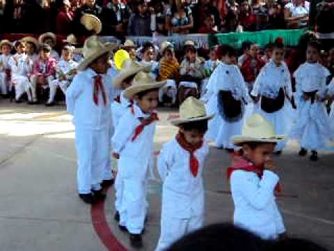 Niños bailando baile de Veracruz