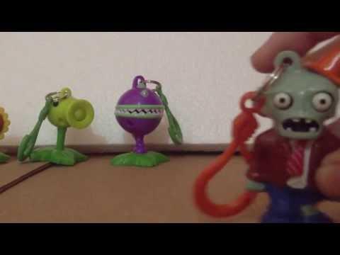 plantas contra zombies - Minireview Los 8 llaveros de Plantas vs Zombies.