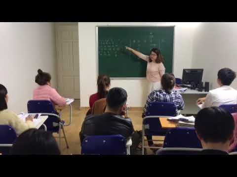 Lớp tiếng Hàn sơ cấp ca chiều – Thạc sỹ Ngọc Thu