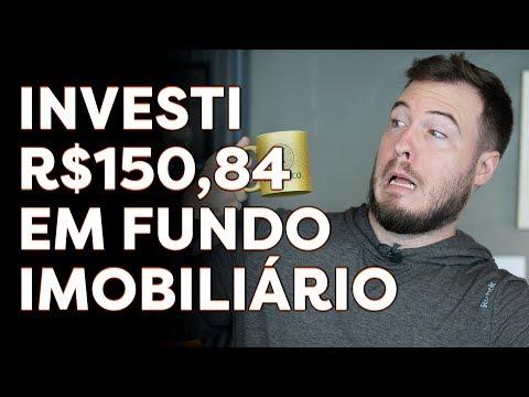 INVESTI R$ 150,84 EM FUNDO IMOBILIARIO (FII) NA BOLSA DE VALORES   Aprenda na PRÁTICA como COMPRAR