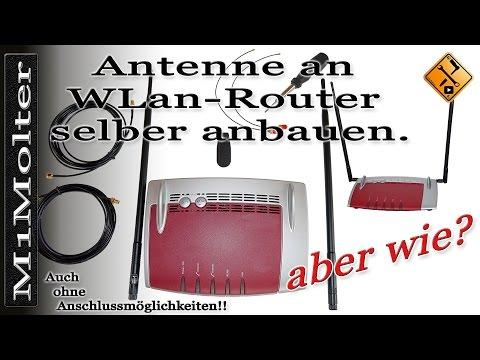 WLan Router - Reichweite verbessern durch neue Antennen ohne Antennenanschluss? M1Molter cc-EN