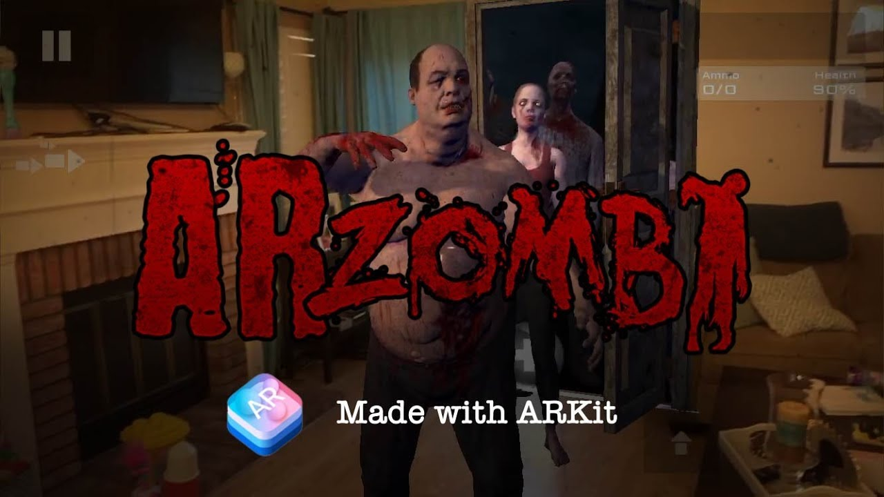 photo image Survive Augmented Reality Zombie Attacks in 'ARZombi'