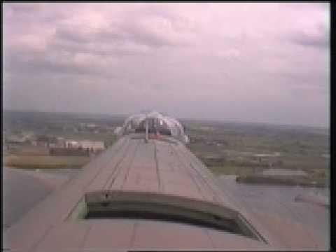 Flypast of East Kirkby inside Avro Lancaster PA474