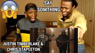 Video Justin Timberlake - Say Something ft. Chris Stapleton (REACTION) MP3, 3GP, MP4, WEBM, AVI, FLV Juli 2018