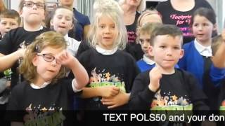 Pollie Popstars- Stronger! TEXT POLS50 & amount to 70070