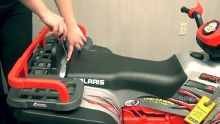 9. Finding Your Battery - Polaris Quads