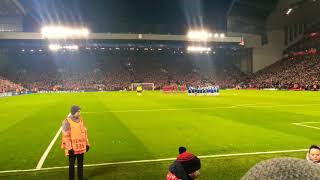 Video Anfield pays respect to Davide Astori // Liverpool vs Porto UCL MP3, 3GP, MP4, WEBM, AVI, FLV Maret 2018