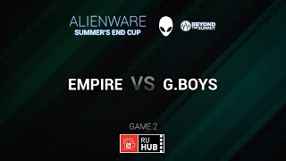 Empire vs Golden Boys, game 2
