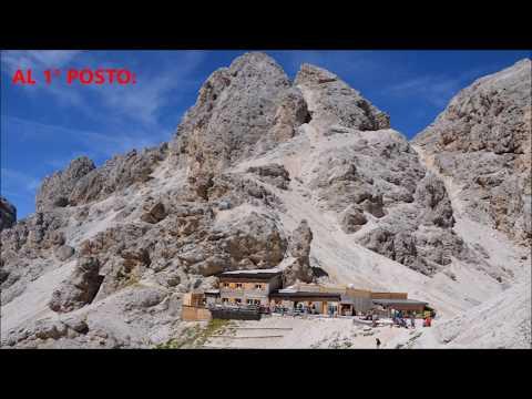 Le 5 più belle escursioni da fare in Val di Fassa #dolomiti #valdiFassa #trekking видео