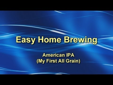 Easy Home Brewing – All Grain on the Stove