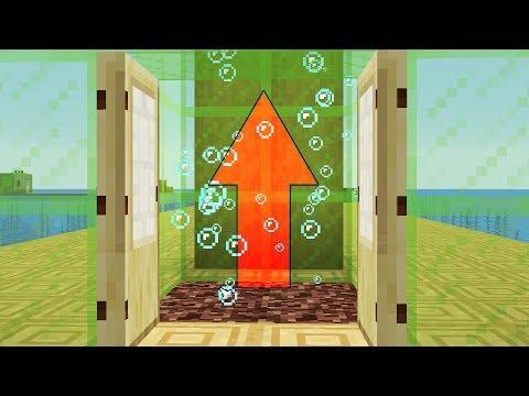 NEW 1.13 WATER MECHANICS! Water Elevator, Kelp Farm (Minecraft Snapshot) (видео)