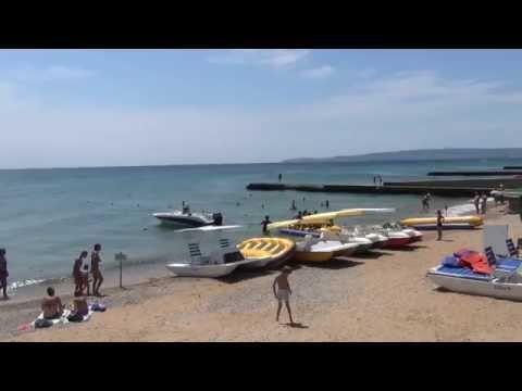 Крым отдых в Феодосии поселок Приморский
