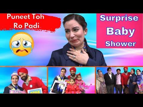 Surprise Baby Shower - Puneet Toh Ro Padi | Ramneek Singh 1313 @RS 1313 VLOGS @RS 1313 SHORTS