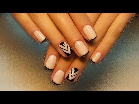 Смотреть онлайн видео дизайн ногтей