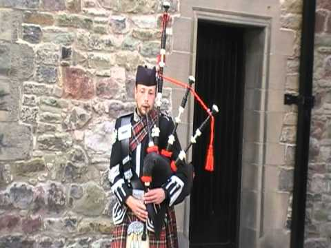 bagpipes - I filmed this at Edinburgh Castle in 2010 when I was on holiday in scotland.