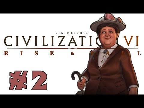 Civilization VI: Rise and Fall! -- Wilhelmina of the Netherlands! -- Part 2 (видео)